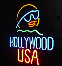 Hollywood Neon Sign